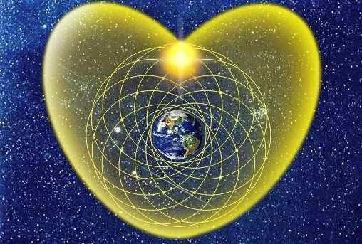 holograma del corazón