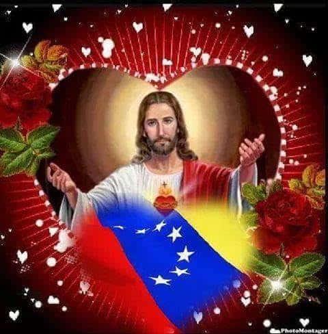 Jesús con amor a Venezuela