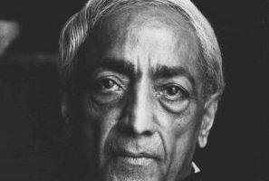 Jiddu Krishna Murti Cita: Debo amar eso mismo que estoy estudiando