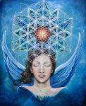 hermandadblanca org mujer con alas y flor de la vida 243×300.jpg - La magia de la flor de la vida por los Andromedanos - hermandadblanca.org