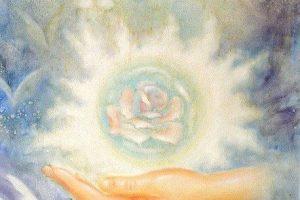 La Rosa de sanación en su interior ~ Rosa Blanca de la conciencia. Lady portia