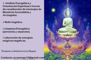 Terapia a Distancia  (Vía Skipe)- Limpieza energética, Liberación de energía Negativas, Análisis Energético y Orientación espiritual