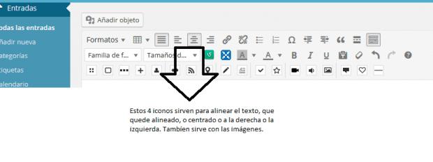 2.2_como_usar_wordpress_insertar_entrada_justifica_texto