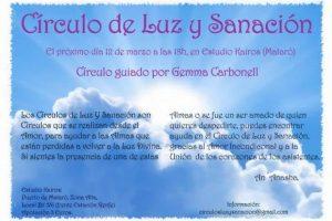 Círculo de Luz y Sanación:  Ayudando a las Almas a cruzar hacia la Luz Divina – 12 de Marzo del 2016