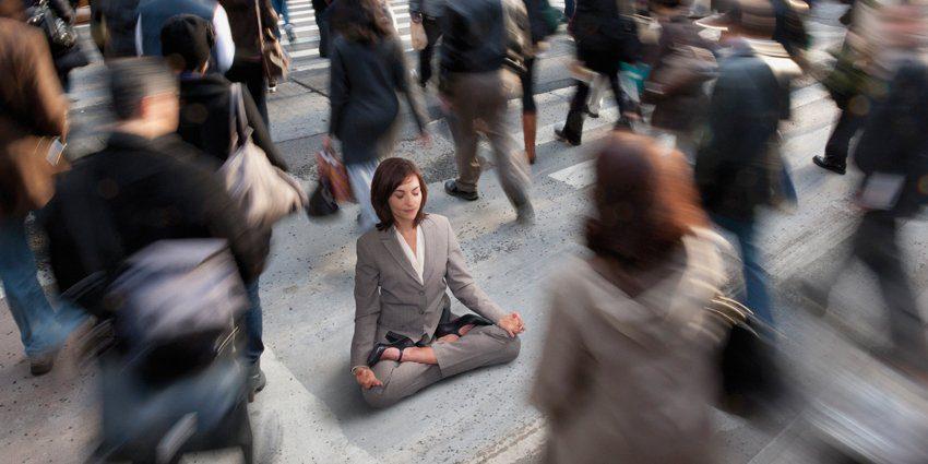 Estrés con el Yoga