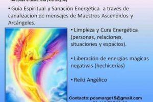 Terapia a Distancia (vía Skype): Guía espiritual con Sanación Energética a través de canalización de mensajes de Maestros Ascendidos y Arcángeles~ Abril 2016