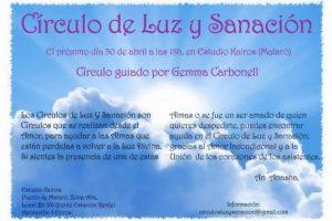 Círculo de Luz y Sanación: Ayudando a las Almas a cruzar a Luz Divina, 30 de Abril de2016. Actividad Gratuita
