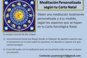 Meditación Personalizada según tu Carta Natal ~  «Promoción Mayo 2016»