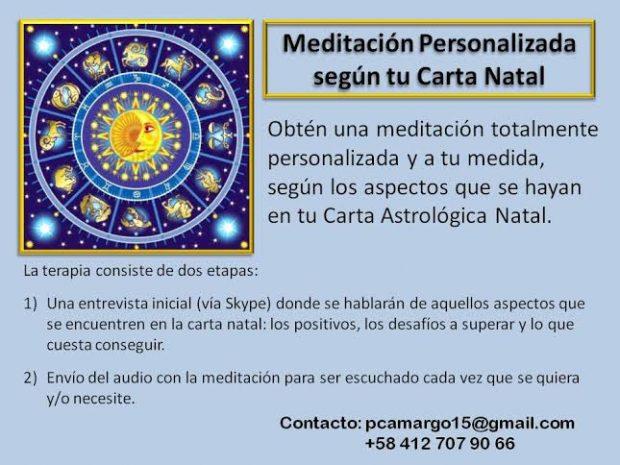 Meditación personalizada segun tu carta natal
