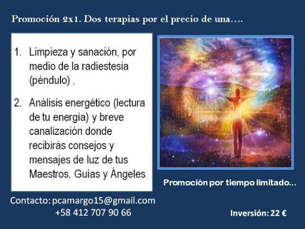 2 terapias al precio de Una- Patricia Camargo