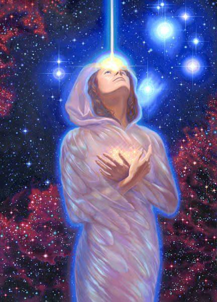 energía que sale de nuestro alma