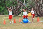 niños deporte y educación infantil