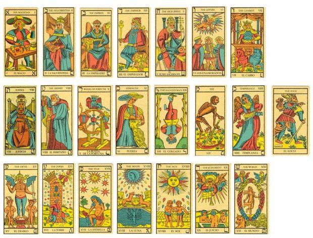 Tarot de marsella primeras cartas