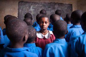 La situación educativa en los países en desarrollo como el África subsahariana