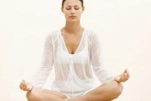 Meditación de la respiración.