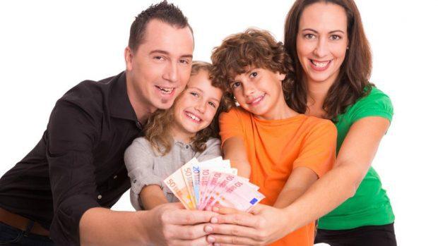 abundancia económica para la familia