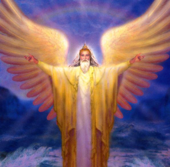 Ayuda del arcángel de Raziel