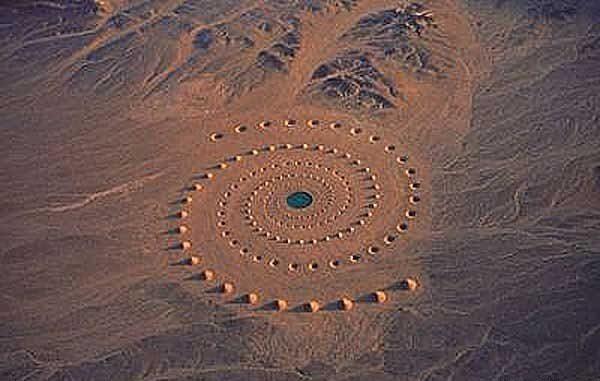 círculo de arena del desierto Oriente Medio_opt