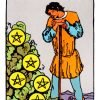 Carta siete de oros del tarot