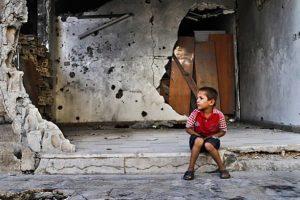 ¿Cuáles son los efectos de la guerra en los niños?
