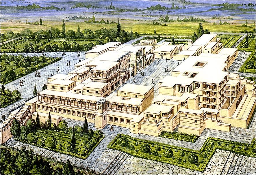 La civilización minoica palacio del rey minos