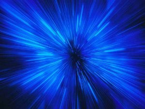 rayo azul