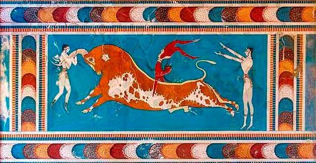 Relieve del Palacio de Creta