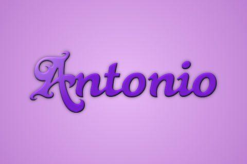 significado nombre Antonio
