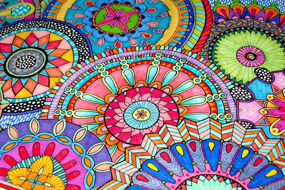Ya conoces los significados de mandalas - Mandalas en colores ...