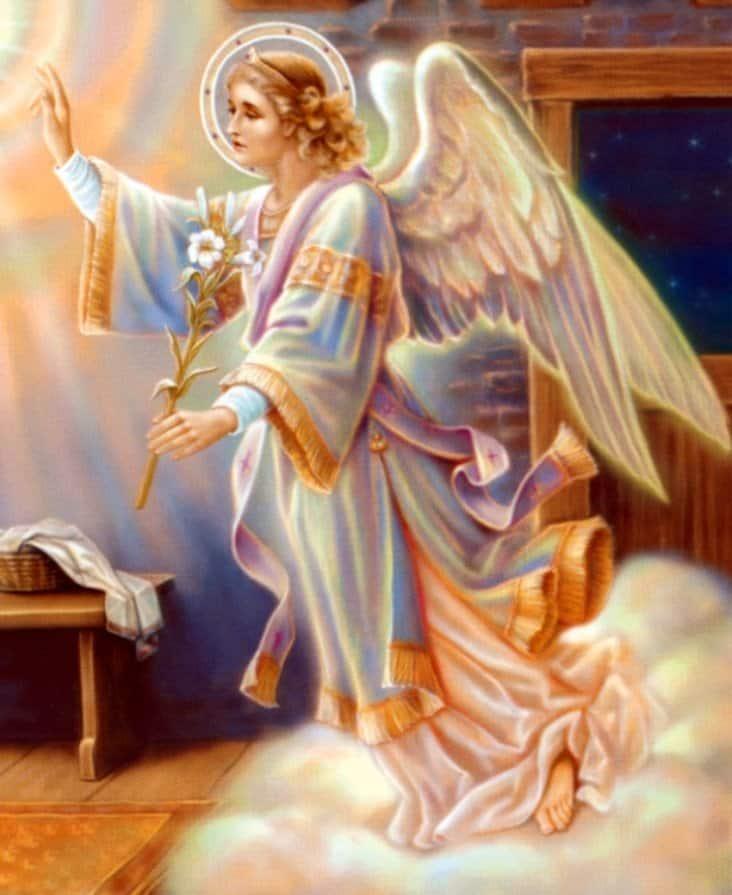 Resultado de imagen para arcangel gabriel