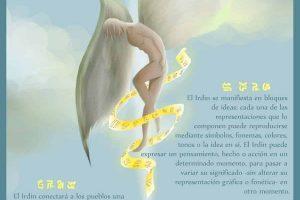 Infografía de Luz «Irdin: La Lengua de los Ángeles».