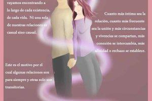 Infografía de Luz «Almas Gemelas: La convicción en tu corazón que existe».