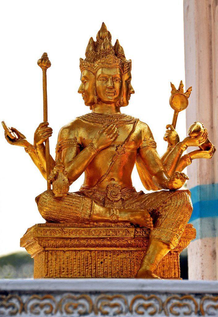 Escultura de Brahman