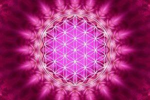 Código de luz de la rosa diamantina del chacra del corazón. Canalizado por Elsa Farrus