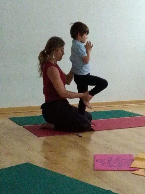 Arantxa Bermejo- Yoga adaptado