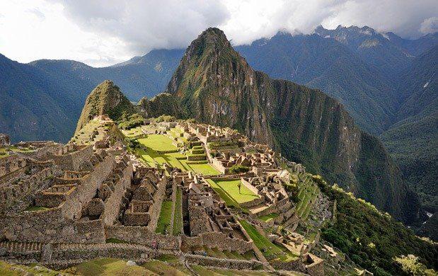 Machu Picchu en Peú