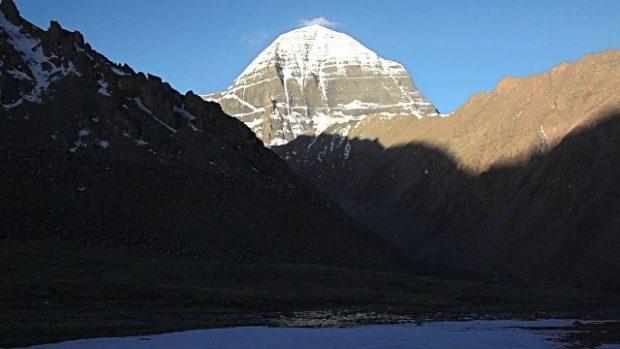 Pico Kailash en el Tíbet