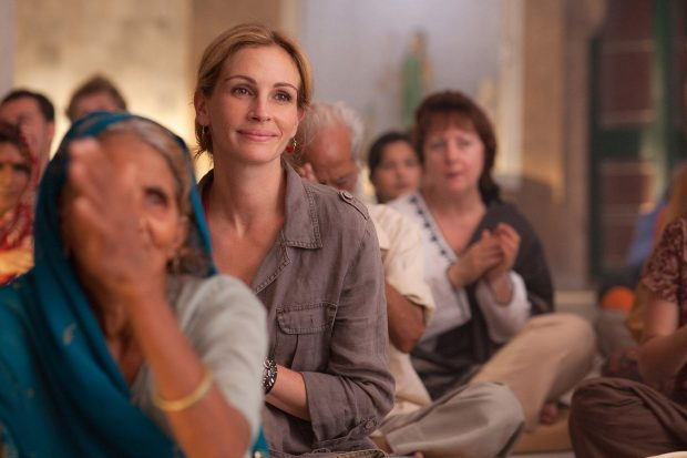 "Julia Roberts as ""Elizabeth Gilbert"" in Columbia Pictures' EAT, PRAY, LOVE."