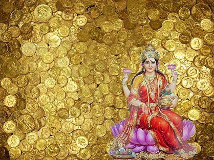 Lakshmi nos trae amor infinito en abundancia