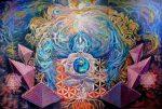 hermandadblanca org geometria sagrada ilustracion piramides naturaleza energia gaia tierra madre naturaleza cosmos 620×417.jpg - Gaia, la deidad de la Tierra - hermandadblanca.org