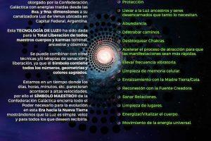 Iniciación en el Símbolo Maestro Tecnología de Luz, por Canalizadora Luz de Venus