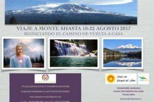 Viaje a Monte Shasta 10-22 de Agosto 2017
