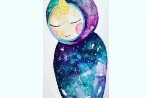 La niña de las estrellas.