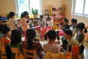 Formación Vivencial, Festiva, Activa y Experiencial, interacción del alumno con su entorno