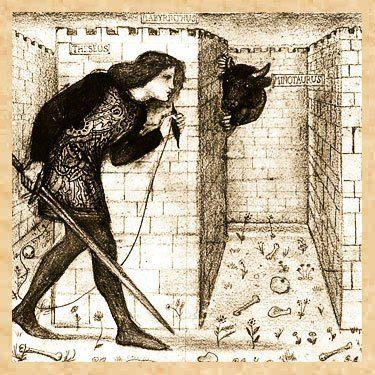 20170307 gonzevagonz23596 id123312 simbologia del laberinto el mito y la historia teseo con el hilo - Simbología del Laberinto: el Mito y la Historia - hermandadblanca.org