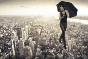 Cree en ti y todo será posible ¿por qué desperdiciar tu vida?