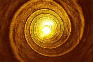 La espiral del evento de la energía de ascensión. por Melanie Beckler