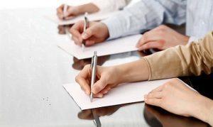 Line of writing hands. - Comunicación a través de lectura y escritura: Lee excelente para que escribas óptimo - hermandadblanca.org