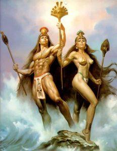 """20170424 willyhern39164 id125016 dioses y diosas indigenas - """"El Entierro en los Espejos, el encanto del Oro"""" - hermandadblanca.org"""