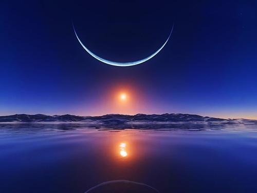 20170428 rosa id125263 luna creciente - Así que Lo que Está Sonando en Mis Oídos…  Por Celia Fenn - hermandadblanca.org